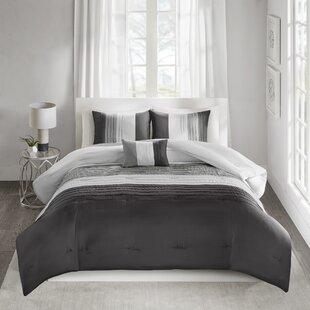 Ebern Designs Gledhill 4 Piece Comforter Set