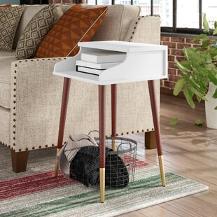Kennison Mid Century Modern End Table by Ivy Bronx