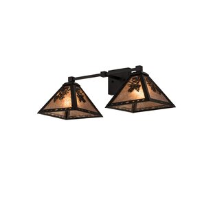 Millwood Pines Everhart 2-Light Vanity Light