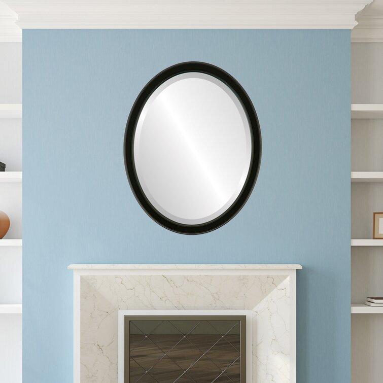 Winston Porter Midville Framed Oval Accent Mirror Wayfair