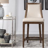 Morpeth Leather 26 Bar Stool by Darby Home Co