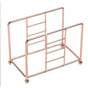 Copper Plated Free-Standing Napkin Holder