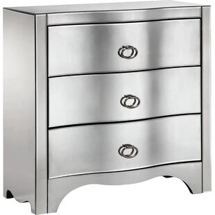 Baretta 3 Drawer Accent Chest by House of Hampton