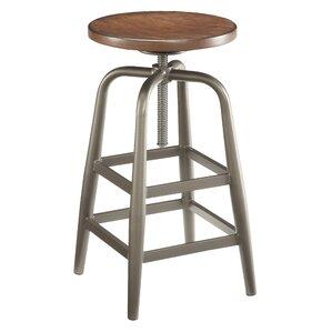 Oberlin Adjustable Height Swivel Bar Stool by Trent Austin Design