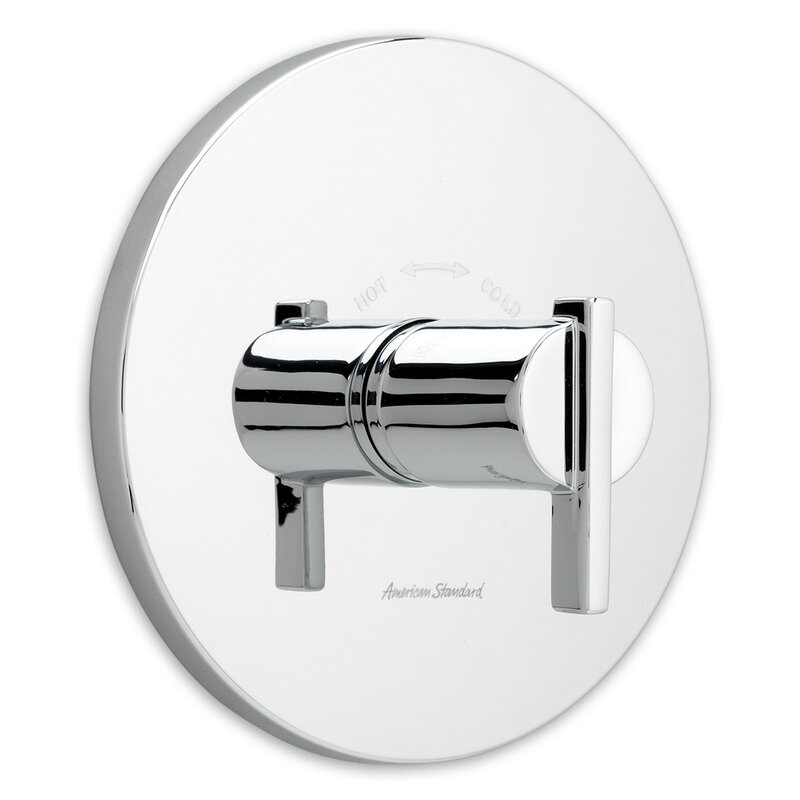 American Standard Berwick Central Thermostatic Shower Faucet Trim ...
