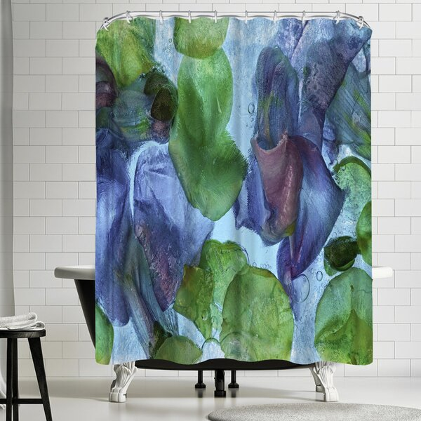 East Urban Home Zina Zinchik Jeweled Single Shower Curtain Wayfair