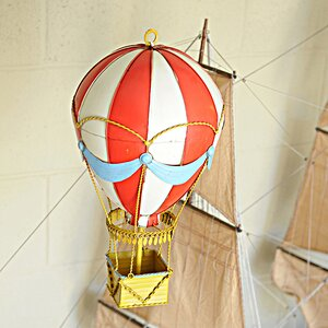 Vintage Hot Air Balloon Model