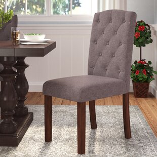 Rotterdam Upholstered Dining Chair by Charlton Home Amazing