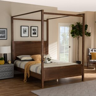 Stockell Twin Canopy Bed by Red Barrel Studio