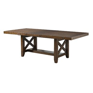 Melstone Extendable Dining Table Three Posts