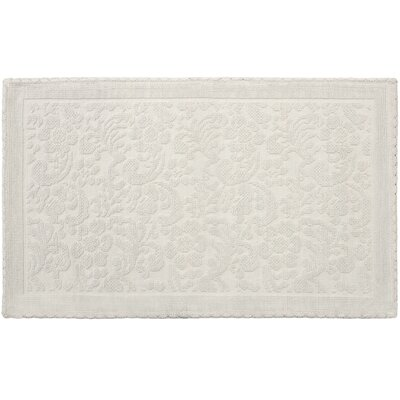 Greyleigh Culpeper Turkish Crochet Rectangle 100 Cotton Reversible Non Slip Floral Bath Rug Greyleigh Color Linen Size 21 W X 34 L From Wayfair North America Shefinds