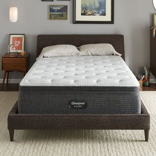 Beautyres Silver 900-C Medium 16 Pillow Top Mattress and Box Spring by Simmons Beautyrest