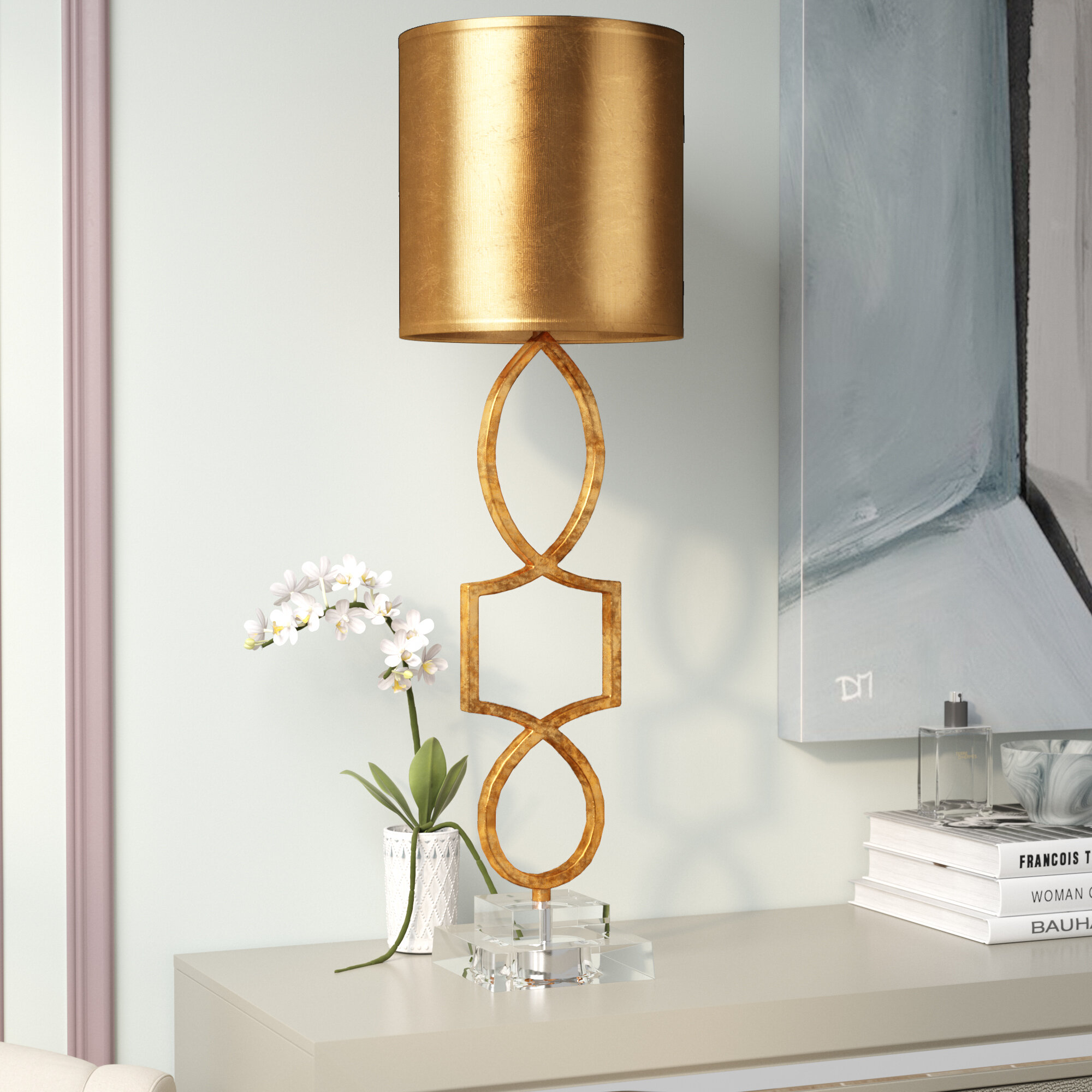 Willa Arlo Interiors Rodger 34 Table Lamp Reviews Wayfair