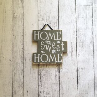 Home Sweet Home Sign Wall Décor