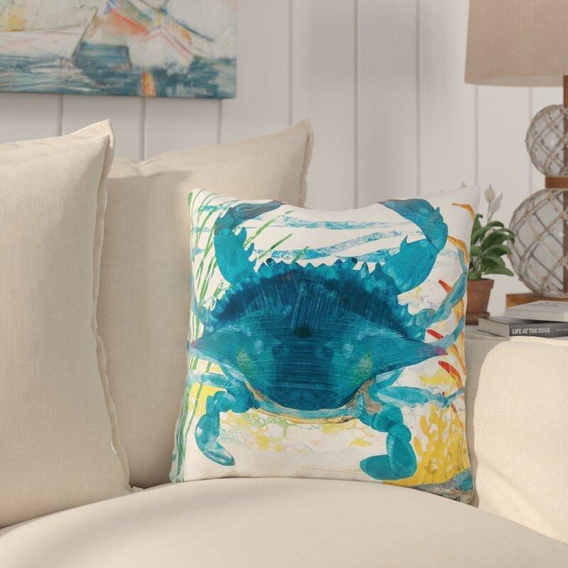 Graydon Coastal Indoor Outdoor Throw Pillow Reviews Birch Lane