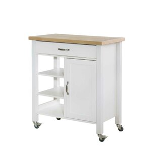 Elnora Kitchen Cart by August Grove