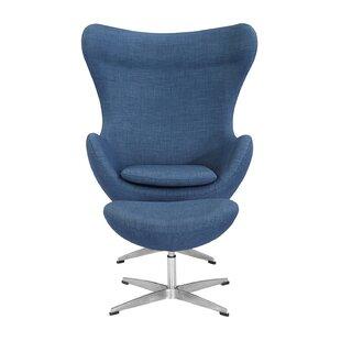 Orren Ellis Deniela Swivel Lounge Chair and Ottoman