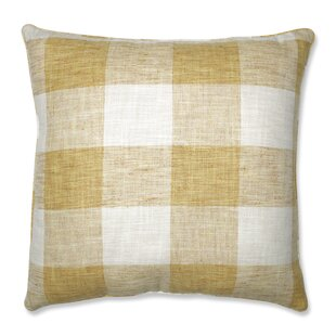 Paschal Check Please Floor Pillow by Gracie Oaks Cool
