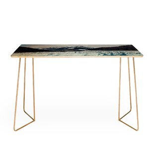Leah Flores Glacier Bay National Park Desk by East Urban Home Spacial Price