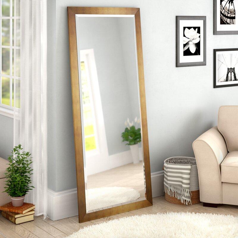 Apostol Slender Body Floor Full Length Mirror & Reviews