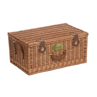 Willow Picnic Hamper By August Grove
