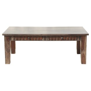 Mortenson Coffee Table With Storage by Loon Peak 2019 Sale