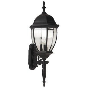 Oakhill 3-Light Aluminum Outdoor Sconce