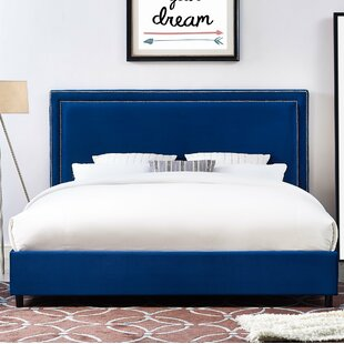 Bram Upholstered Platform Bed by Willa Arlo Interiors