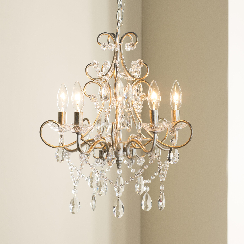 House Of Hampton Sherwood 5 Light Candle Style Chandelier Reviews Wayfair