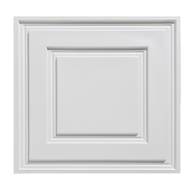 Ultralite 2 Ft X 2 Ft Lay In Ceiling Tile In White Wayfair