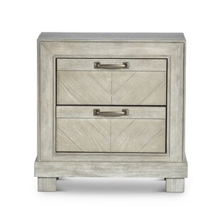 Check Prices Vachel 2 Drawer Nightstand by Gracie Oaks