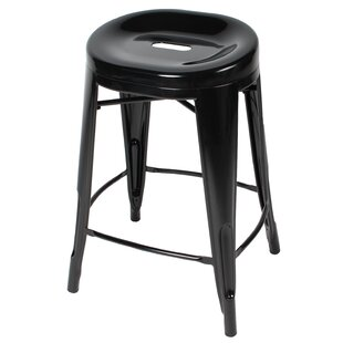 Godbolt 24'' Bar Stool by Brayden Studio