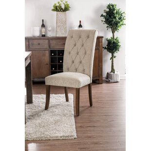 Gracie Oaks Makaila Upholstered Dining Chair (Set of 2)