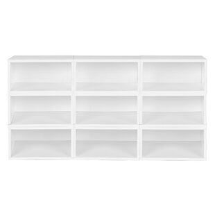 Chastain Standard Bookcase by Rebrilliant Today Sale Only