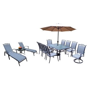 Basile 14 Piece Dining Set