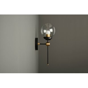 Kist 1-Light Armed Sconce by Wrought Studio