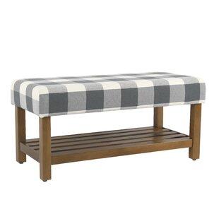 Gracie Oaks Prudhomme Decorative Upholstered Storage Bench