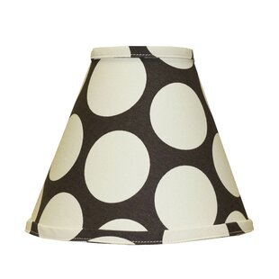 Kaylan Dot Nursery 9 Linen Empire Lamp Shade