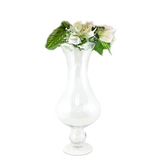 Dowding Glass Table Vase by Canora Grey