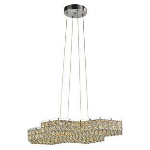 Iris 1-Light Pendant by House of Hampton