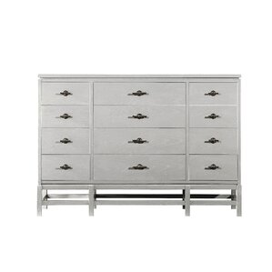 Blackburn 12 Drawer Dresser by Rosecliff Heights