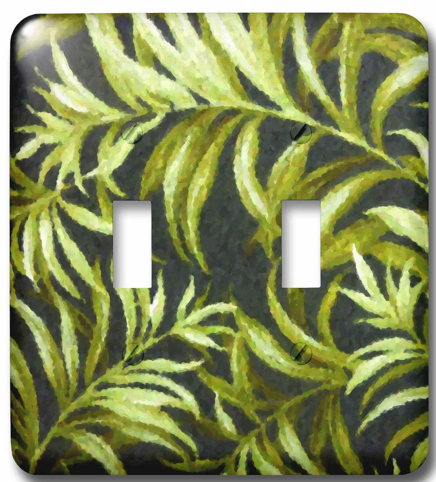 3drose Tropical Fauna 2 Gang Toggle Light Switch Wall Plate Wayfair