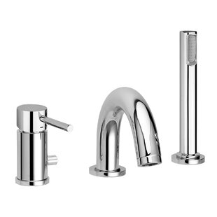 WS Bath Collections Light Diverter Tub and Shower Faucet Lever Handle