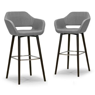 Best Ade 29.5 Bar Stool (Set of 2) by Glamour Home Decor