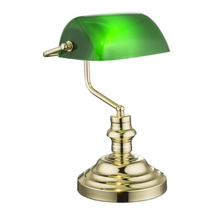Bankers table lamps wayfair bankers 36cm desk lamp mozeypictures Image collections