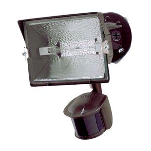 300-Watt Outdoor Security Flood Light with Motion Sensor by Cooper Lighting LLC