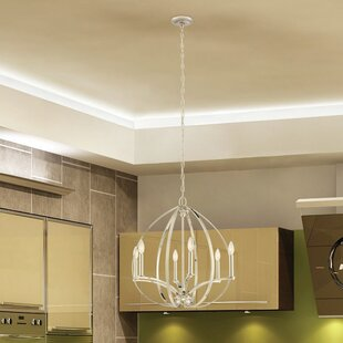 6 Light Candle Chandelier by Minka Lavery