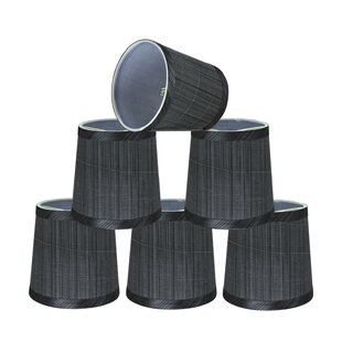 Transitional 5 Fabric Empire Lamp Shade (Set of 6)