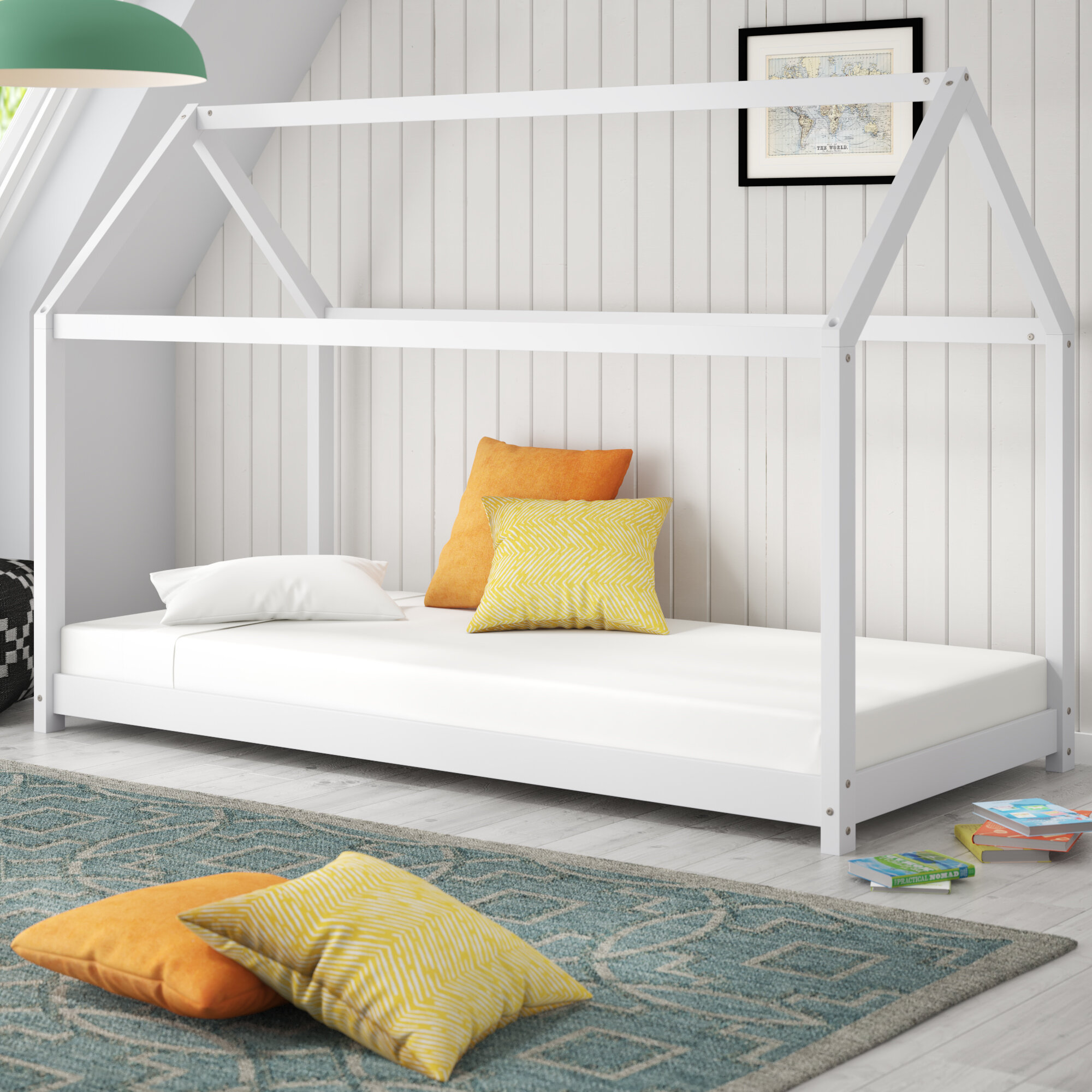 buy online 3a516 1f143 Altman Toddler Canopy Bed