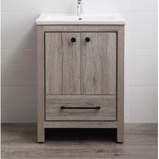 24 inch bathroom vanities you ll love wayfair rh wayfair com 48 Single Sink Bathroom Vanity Bathroom Vanity Product